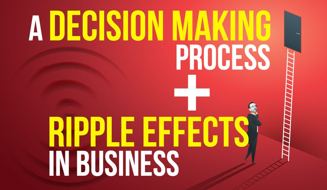 A Decision Making Process + Ripple Effects In Business