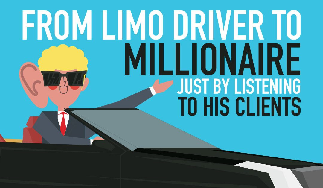 He Went From Limo Driver to Millionaire Just By Listening To His Clients