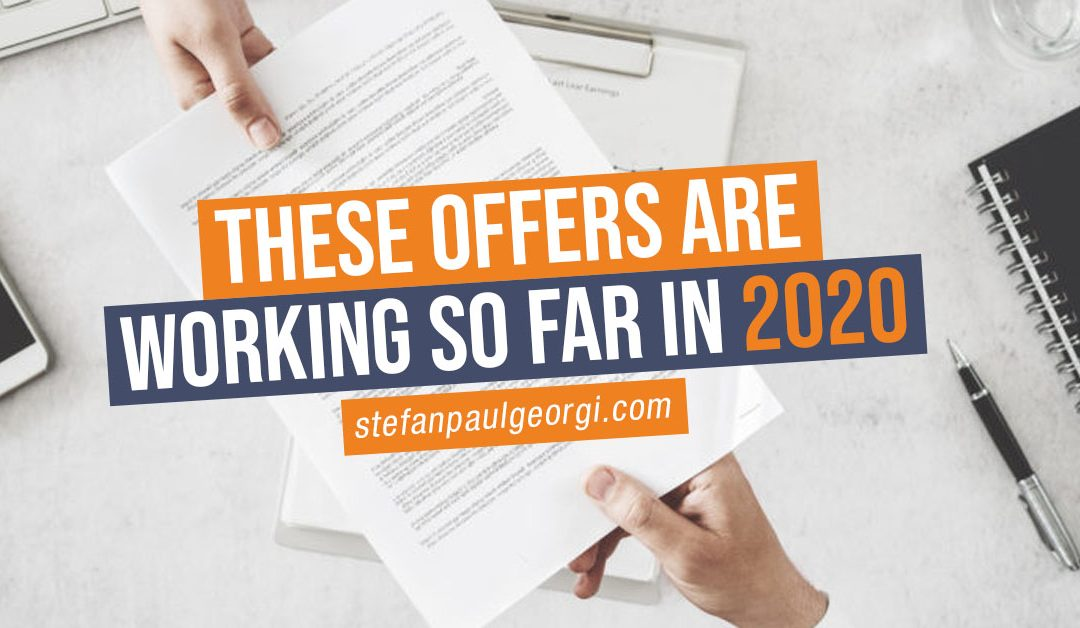 These Offers Are Working So Far In 2020