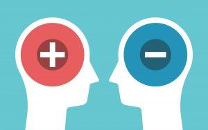 Default Modes: On Maximizing Pleasure Vs. Minimizing Pain