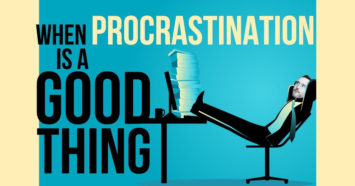Flipping the script on procrastination…