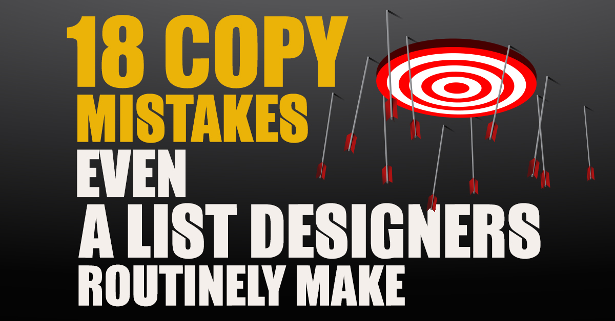18 Copy Mistakes Even A-List Writers Routinely Make