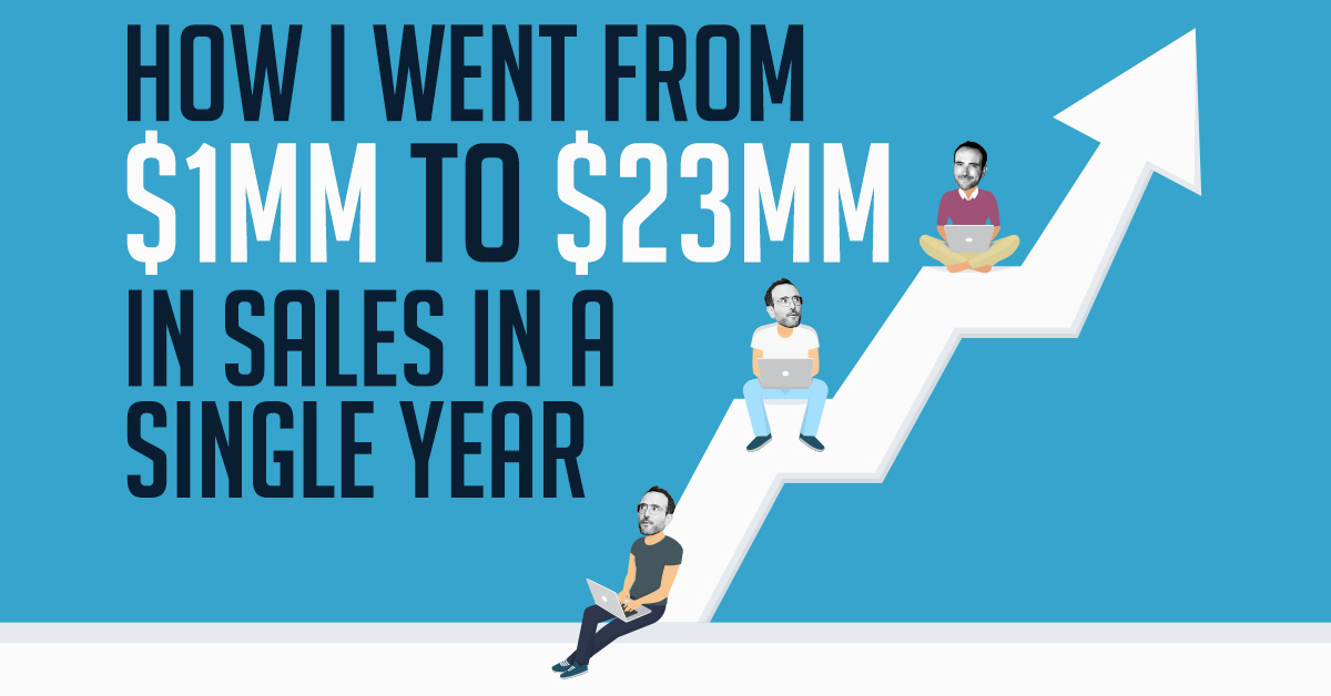 It's All About Speed (From $0 To $20MM In Under A Year)