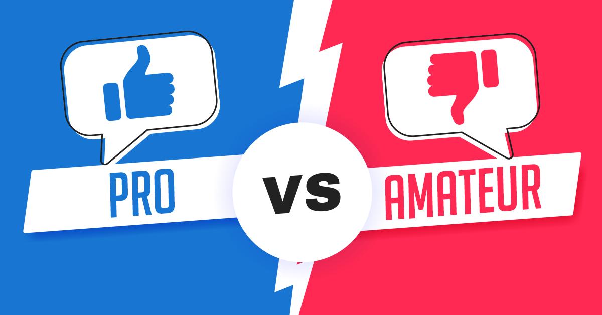 pro vs amateur